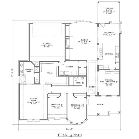 large 1 story house plans one story house plans with large kitchens rugdots