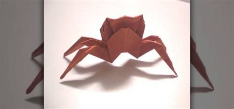 Origami Intermediate - how to make an origami crab for intermediate students