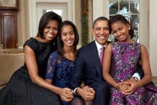 obama first family obama family