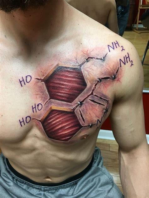 40 genius science tattoo ideas