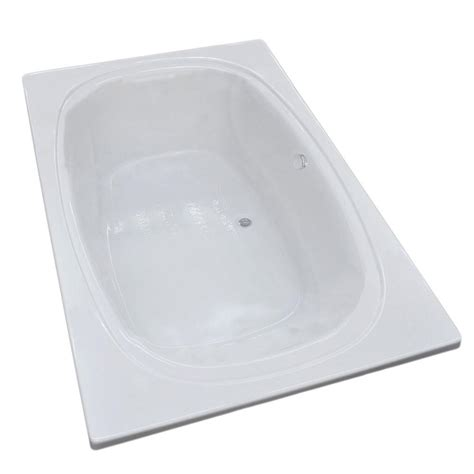 center drain bathtubs universal tubs imperial 7 ft acrylic center drain