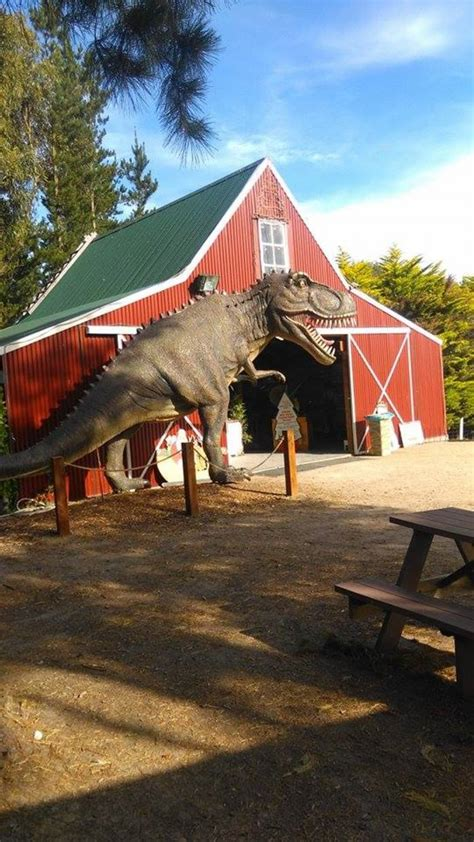 dinosaur world at somerville christmas tree farm