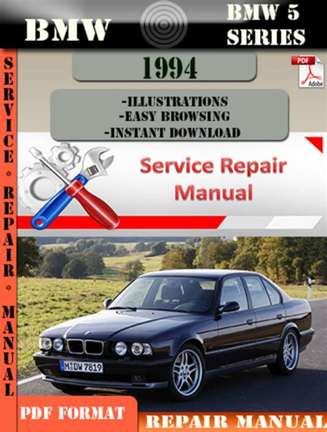 car owners manuals free downloads 1994 bmw 5 series electronic valve timing bmw 5 series 1994 factory service repair manual pdf download manu
