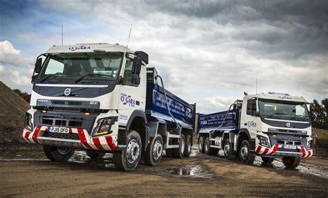 volvo trucks  ten years join frank ogara sons fleet fleet uk haulier