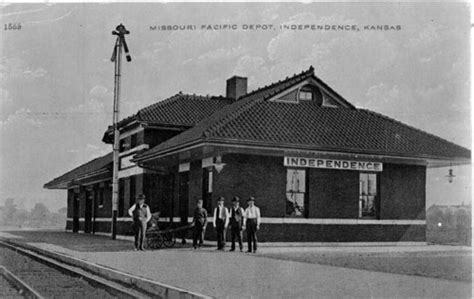 missouri pacific railroad depot independence kansas