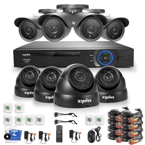 Cameras For House by Home Security Cameras Sannce 800tvl