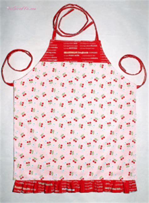 come cucire un grembiule da cucina tutorial grembiulino proteggi vestiti