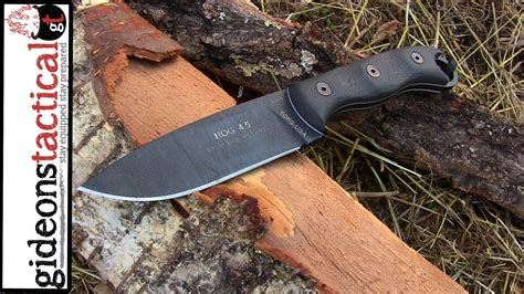 hog with a knife tops knives hog 4 5 knife review get