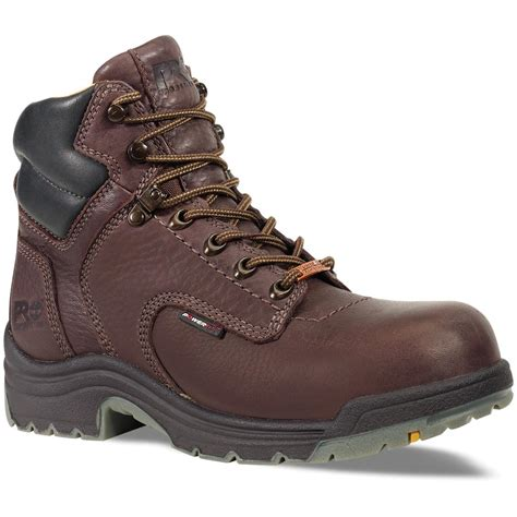 timberland womans boots s timberland 174 pro 174 6 quot waterproof safety toe titan