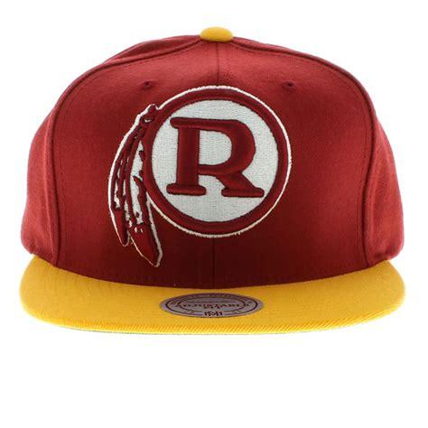 redskins colors washington redskins team colors the xl logo snapback by