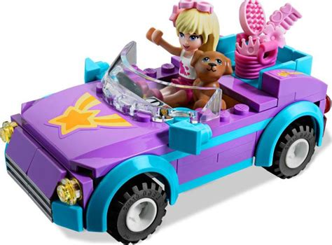Lego Friends Auto by Lego Friends 3183 Stephanie S Cool Convertible I Brick