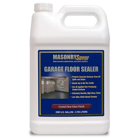 masonrysaver garage floor sealer gal