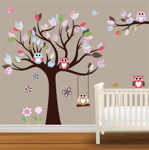 owl baby nurseries baby nursery wall stickers children