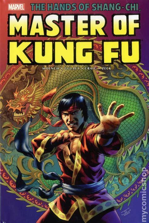 Master Vol 6 1 shang chi master of kung fu omnibus hc 2016 marvel comic