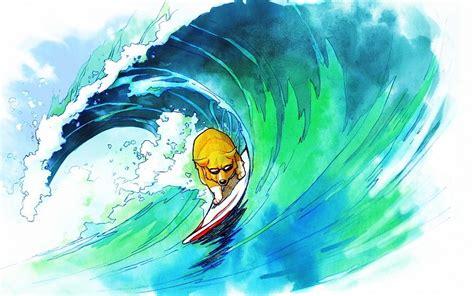 imagenes para fondo de pantalla surf dog surf surf wave dibujo fondos de pantalla gratis
