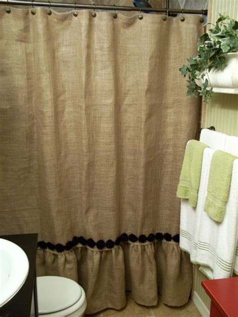 Burlap Shower Curtains Burlap Shower The O Jays And Burlap Shower Curtains On