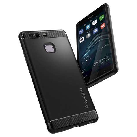 Huawei P9 Plus X Carbon Armor Soft Casing Cover Bumper Bagus huawei p9 rugged armor huawei cell phone spigen