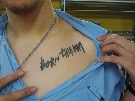 born this way tattoo buffalo exchange employee born this way new