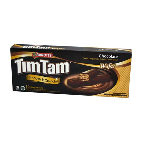 Paket 4pcs promo timtam chocolate wafer 10 sticks paket 4pcs elevenia