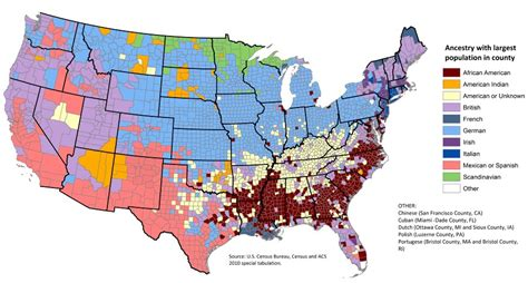 ethnic map usa genetic portrait of the speaking world abroad in