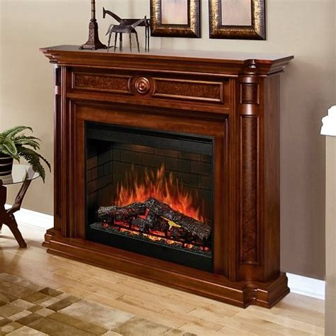 dimplex hartford medium cherry electric fireplace
