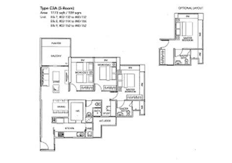 city view boon keng floor plan 黄室小筑 floor plan