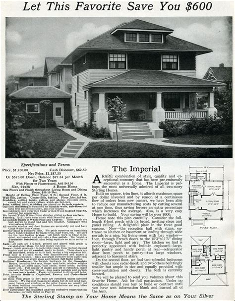 Four Square House Plans 1916 sterling imperial american foursquare hipped roof
