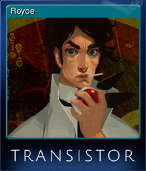 transistor royce steam trading cards wiki
