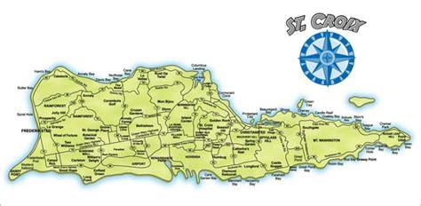 st croix vi map croix map