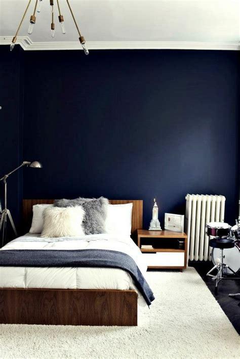 Schlafzimmer Dunkelblau