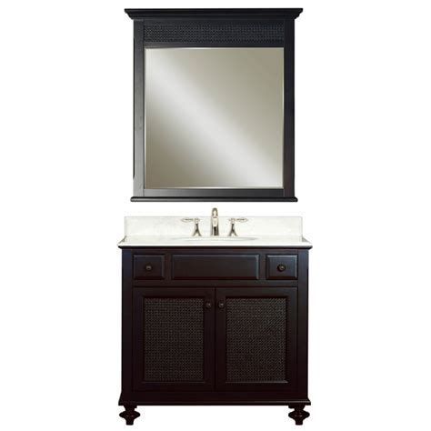 36 inch bathroom vanity with sink 36 inch single sink vanity with a dark espresso finish and