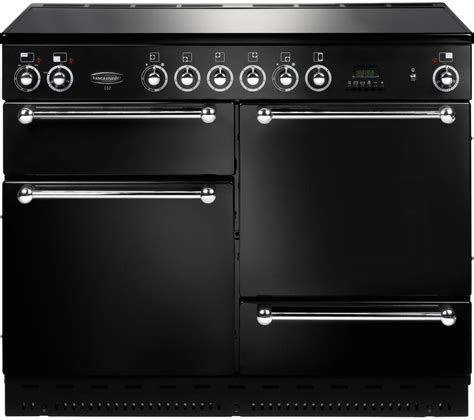 chrome range buy rangemaster classic 110 electric ceramic range cooker