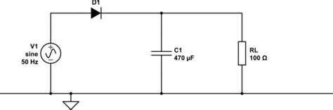 rectifier diode how does it work how does filter rectifier circuits work electrical engineering stack exchange