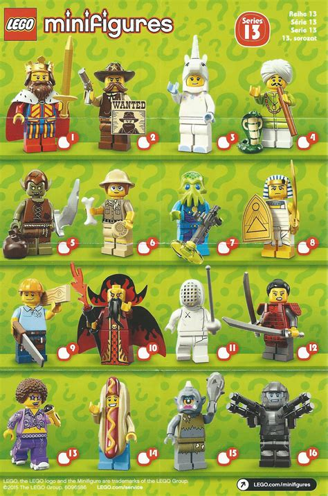 Lego Minifigure Series 13 review lego minifigures series 13