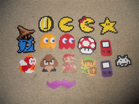 what to do with perler bead creations just some of my perler bead creations by crazysis64 on