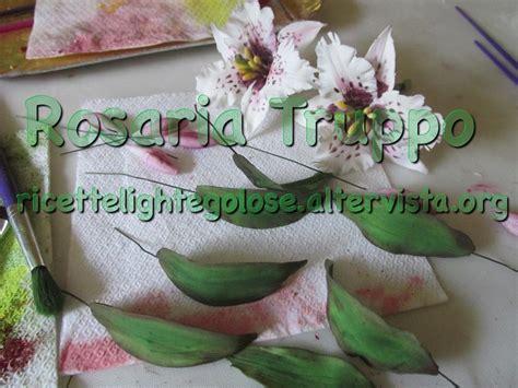 pasta per fiori flowerpaste pasta di zucchero per fiori ricette light