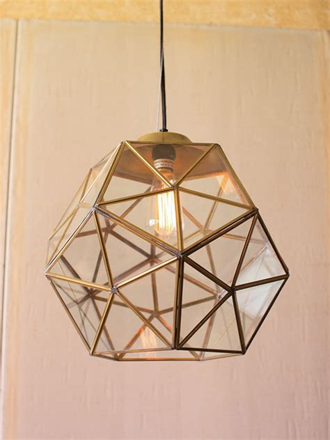 large modern pendant light gold glass geometric large pendant light modern