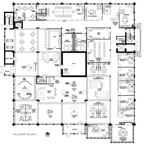 bank design floor plan wix com portfolio created by cld0006 based on my pro