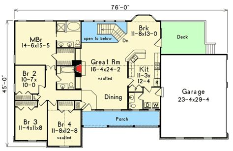 atrium ranch floor plans atrium ranch with rooms to spare 5716ha 1st floor