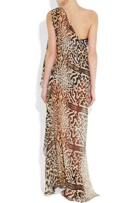 kaftan one soulder manset lyst clube bossa king feline one shoulder kaftan in brown