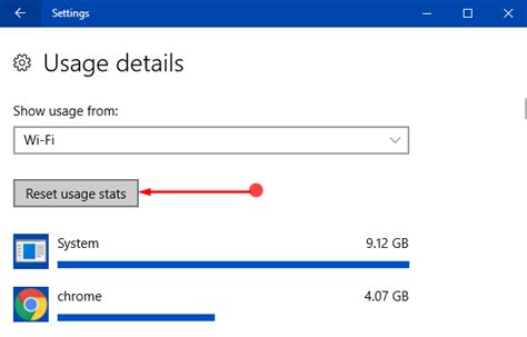 resetting wifi on windows 10 how to reset data usage stats of wi fi and ethernet in