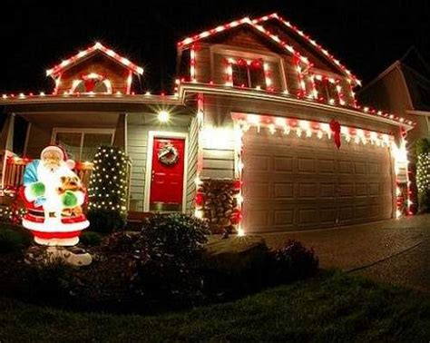decoracion de casas para navidad exteriores decoraci 243 n de navidad con luces para exteriores