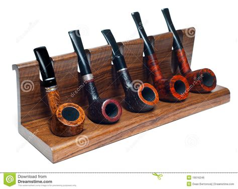 tobacco pipe rack plans collection of smoking pipes royalty free stock image image 19016246