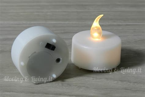 candele elettriche a batteria vendita 6 pz candele candeline a led tea lights batteria