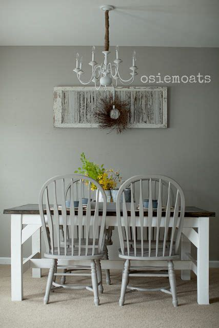 Rustic Gray Dining Room Table Farmhouse Table Rustic Dining Room White Gray Www Osiemoats Tonya S House