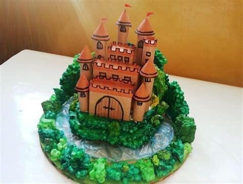 Diy Miniatur Papercraft Bunga Matahari diy miniature castle 183 how to make a 183 papercraft on cut out keep
