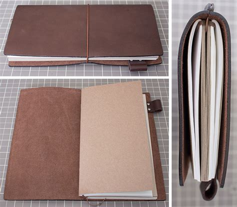 Diy Travelers Notebook Leather Cover Classic Reguler show tell midori traveler s notebooks pretty neat living