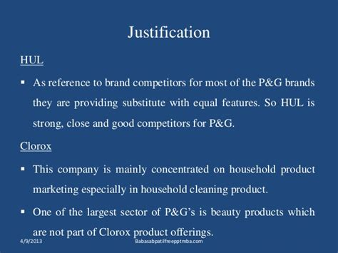 Procter And Gamble Mba by Procter Gamble Marketing Strtergy Mba Ppt Of Marketing