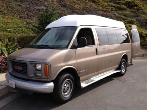 buy used 2001 gmc savana 2500 slt extended passenger van 3 door 5 7l in san clemente california