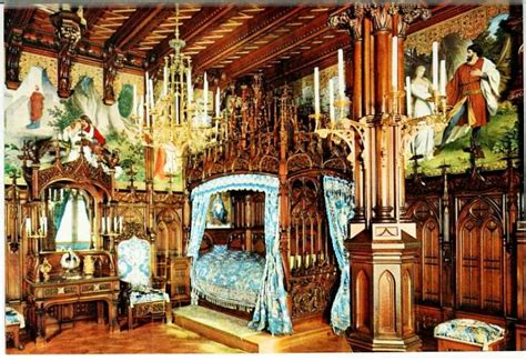 schloss schlafzimmer schloss neuschwanstein kunstmuseum hamburg